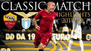 بازی خاطره انگیز آ اس رم - لاتزیو در فصل 18-2017
