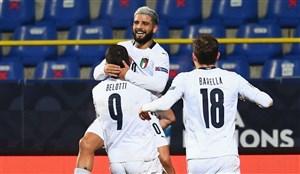صعود ایتالیا و بلژیک به نیمهنهایی لیگ ملتهای اروپا