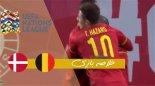 خلاصه بازی بلژیک 4 - دانمارک 2
