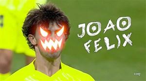 ژائو فلیکس نوید یک فرازمینی جدید در فوتبال دنیا