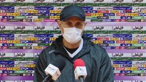 کنفرانس خبری یحیی گل محمدی قبل از دیدار با صنعت نفت