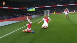 5 گل برتر موناکو برابر پاری سن ژرمن