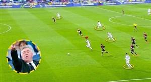 فوتبال چشم نواز رئال مادرید زیر نظر آنچلوتی