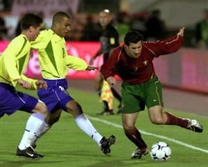 دیدار خاطره انگیز برزیل مقابل پرتغال در سال 2002