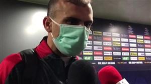 مصاحبه با بازیکنان پرسپولیس بعد از اولین برد در لیگ بیستم