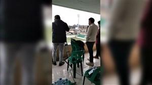 ورزشگاه شهدای نوشهر و جایگاه عجیب دوربین