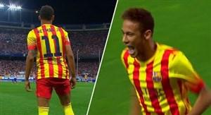 روزی که نیمار اولین گلش را برای بارسلونا به ثمر رساند