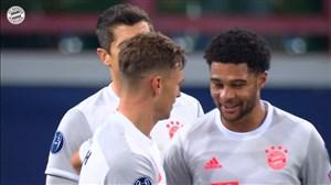 گلهای برتر بایرن مونیخ در لیگ قهرمانان اروپا 2020/21