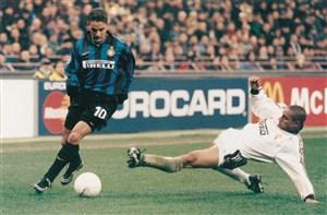 بازی خاطره انگیز اینتر میلان - رئال مادرید (دبل باجو)