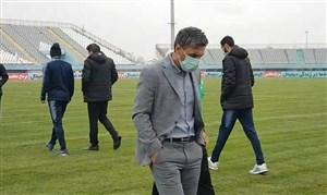 ورود شاگردان خطیبی به ورزشگاه امام خمینی اراک