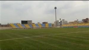 استادیوم محمدی محل برگزاری بازی پرسپولیس-نفتمسجدسلیمان