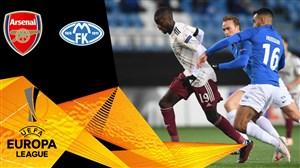 خلاصه بازی مولده 0 - آرسنال 3 (گزارش اختصاصی)