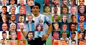 زنده: واکنشها به مرگ مهمترین فوتبالیست تاریخ