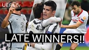 پیروزی های لحظه آخری هفته چهارم لیگ قهرمانان اروپا
