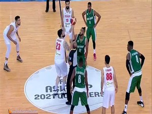 خلاصه بسکتبال ایران 71 - عربستان 64