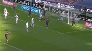 گل اول بارسلونا به اوساسونا توسط بریتویت