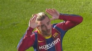 گل دوم بارسلونا به اوساسونا با سوپرگل گریزمان