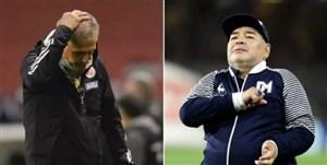 کیروش: دعوای من و مارادونا مزخرف است!