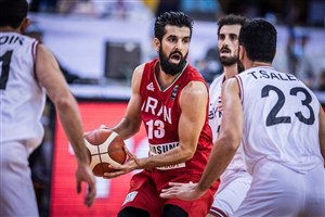 شکست بد موقع تیم ملی بسکتبال مقابل سوریه