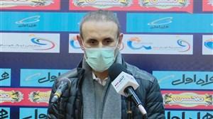 نشست خبری گلمحمدی پس از دیدار با شهرخودرو