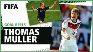 گلهای توماس مولر در تاریخ جام جهانی
