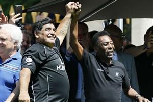 نامه احساسی پله برای درگذشت دیگو مارادونا