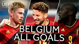 مرور گلهای بلژیک در مرحله گروهی لیگ ملت های اروپا