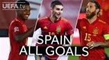 مرور گلهای اسپانیا در مرحله گروهی لیگ ملت های اروپا