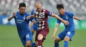 اینیستا، عامل حذف کاناوارو از لیگ قهرمانان آسیا