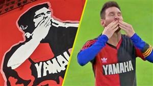 لحظاتی از خوش قلبی لیونل مسی ستاره متعصب بارسلونا
