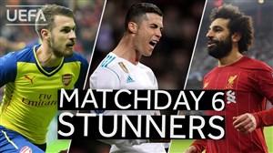 برترین گلهای هفته ششم تاریخ لیگ قهرمانان اروپا
