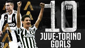 10 گل برتر یوونتوس در مقابل تورینو