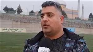 صحبتهای اشکش سرمربی تیم فوتبال استقلال ملاثانی