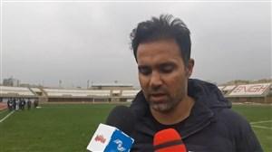 نصرتی: تیمم استحقاق برد مقابل گل ریحان را داشت