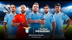 رونمایی از تیم لاتزیو در بازی PES 2021