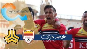 خلاصه بازی فولاد خوزستان 3 - سایپا 0