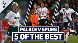 5 گل برتر تاتنهام مقابل کریستال پالاس