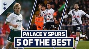 5 گل برتر تاتنهام در مقابل کریستال پالاس