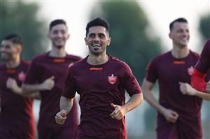 تمرینات آماده سازی بازیکنان پرسپولیس در قطر