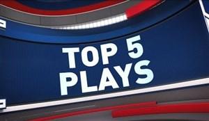 پنج حرکت برتر NBA در شب گذشته (25-09-99)