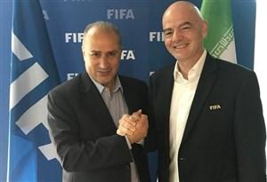 تاج هم به قطر دعوت شد؛ ملاقات ایرانیها با اینفانتینو