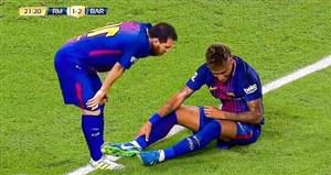 آخرین بازی نیمار و لیونل مسی در کنار هم