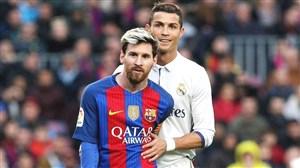لحظات جالب از احترام بزرگان فوتبال به یکدیگر