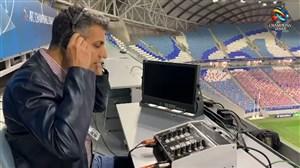گزارش عادل فردوسی پور از محل استقرار در فینال آسیا