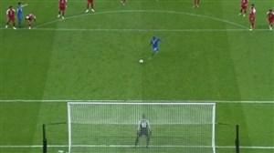 گل دوم اولسان به پرسپولیس (دبل نگرائو - پنالتی)