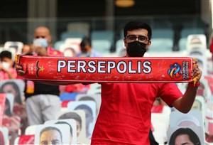 حسرت ایرانی های قطر برای قهرمانی پرسپولیس (عکس)