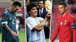 چرا مارادونا از مسی و رونالدو بهتر است؟