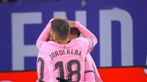 گل سوم بارسلونا به وایادولید توسط مسی