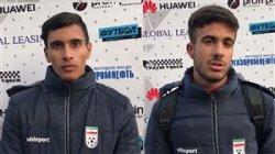 گفتوگو با گلزنان نوجوان تیم ملی مقابل تاجیکستان