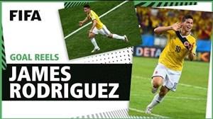 گلهای خامس رودریگز در تاریخ جام جهانی